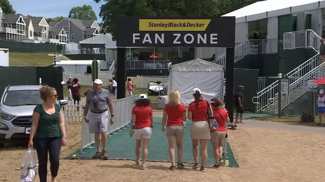 There are new and improved areas at the TPC River Highlands this year (WFSB)