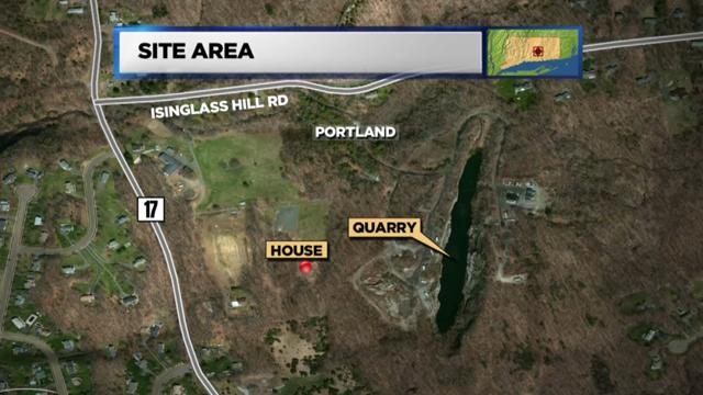 Site of the Portland quarry (WFSB)