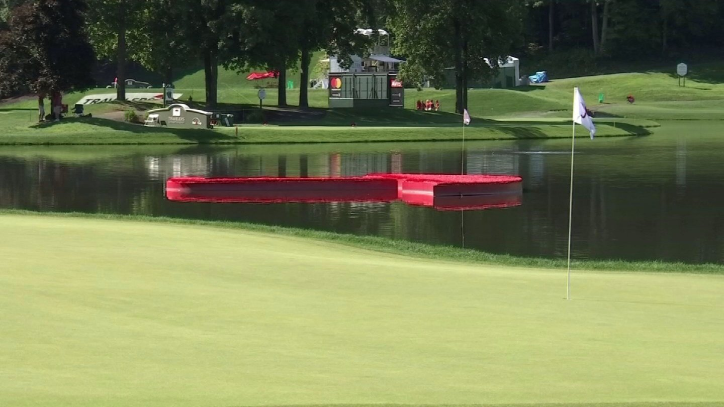 The Travelers Championship kicked off on Thursday in Cromwell. (WFSB)
