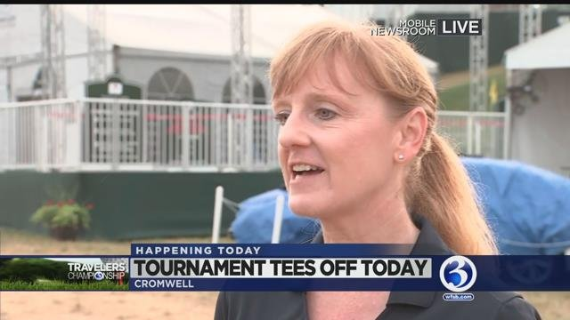 VIDEO: Women's Day at the Travelers Championship