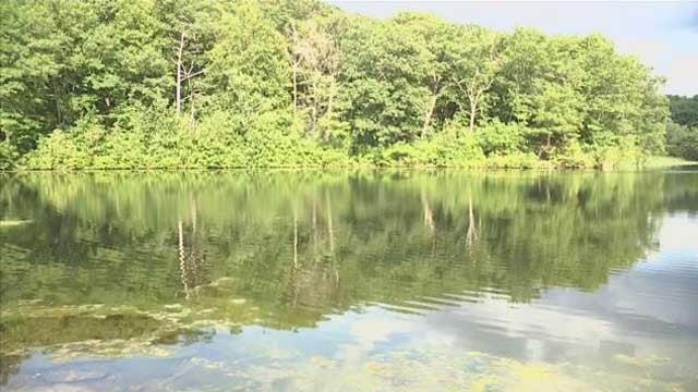 Sylvan Lake in Watertown (WFSB)