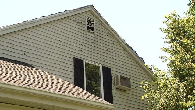 Granby homeowners are still having trouble with hail damage repairs weeks later (WFSB)