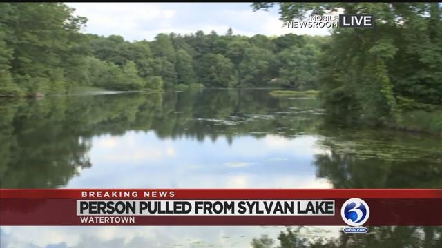 Video: Dive team pulls man from Sylvan Lake in Watertown
