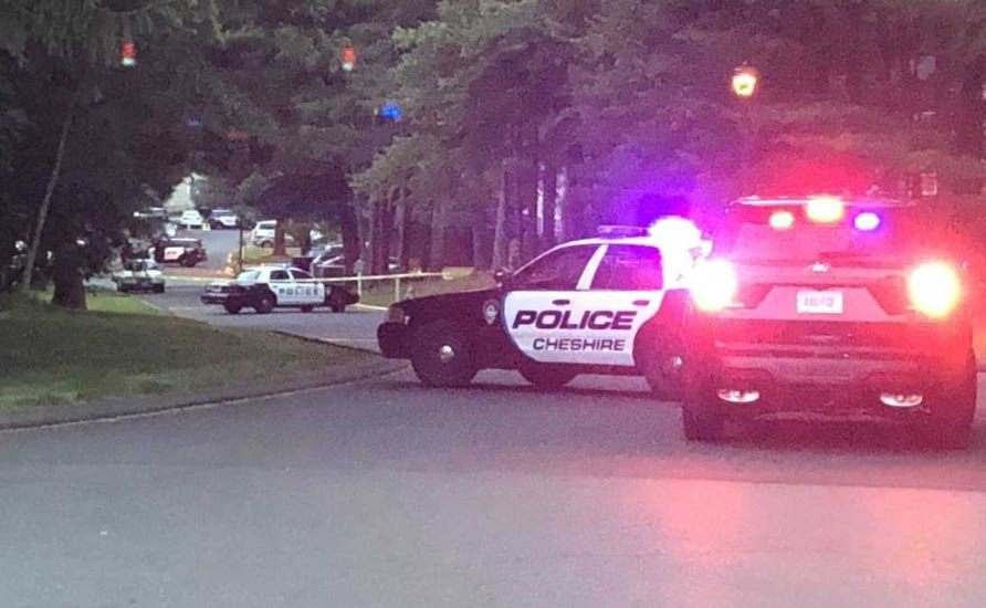 Cheshire Police shot a man after he barricaded himself inside a residence on Friday (WFSB)