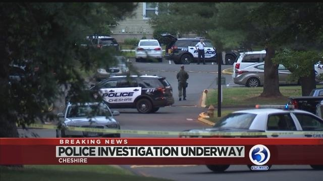 VIDEO: Suspect barricades himself in residence, shot by Police