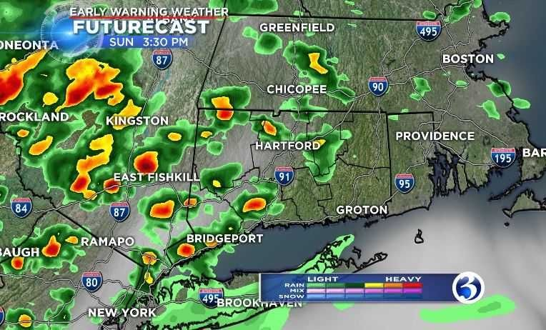 VIDEO: Heat and humidity in forecast for Sunday
