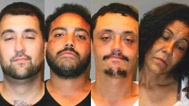 Vehicle Stop Leads To 4 Drug Weapon Arrests In Stratford
