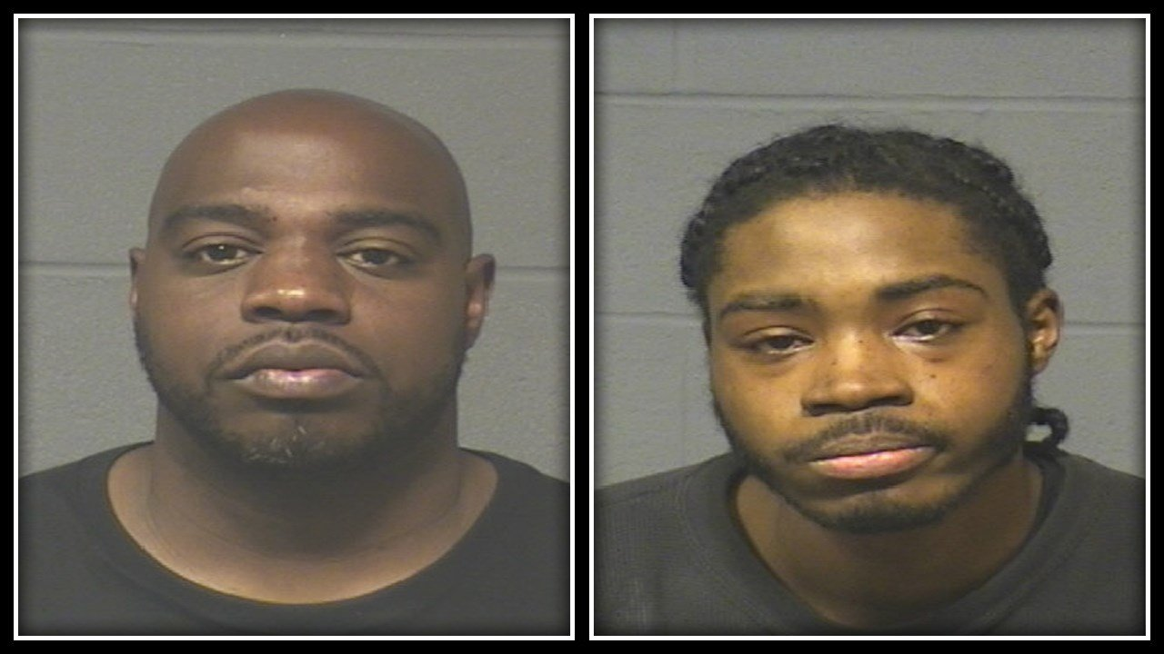 Damond Bester (left) and Kyrone Gardner (right) were arrested in connection to two separate homicides in Hartford (Hartford PD)