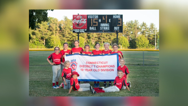 A Glastonbury girl's softball team was disqualified from a tournament after paperwork issues (Submitted)