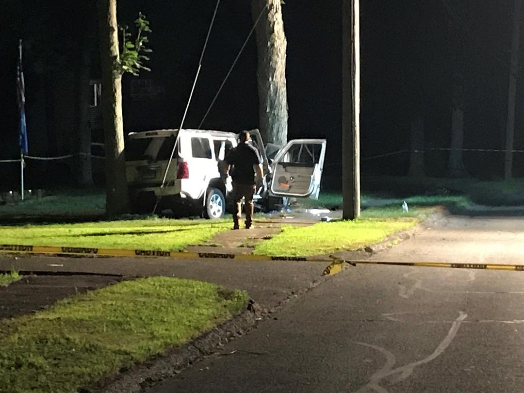 A crash Monday night in Wolcott is under investigation