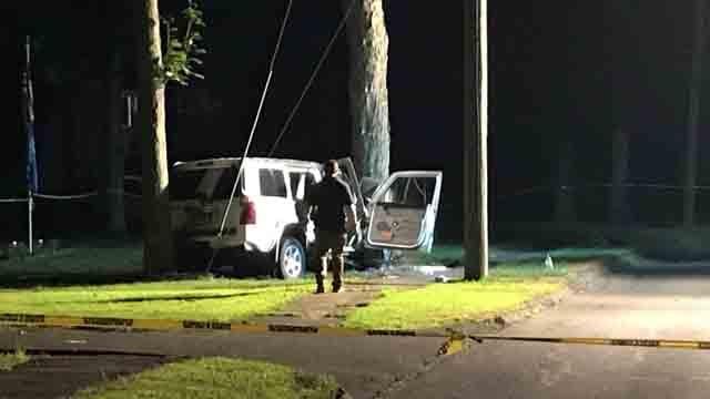 A crash Monday night in Wolcott is under investigation