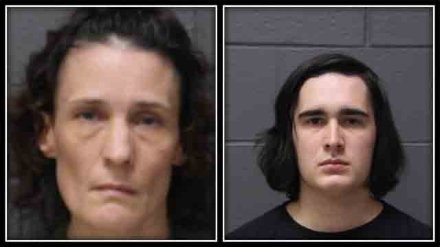 A mother and son from Southington are facing animal cruelty charges. (Southington Police)