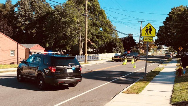 A person was struck by a car in Meriden (WFSB)