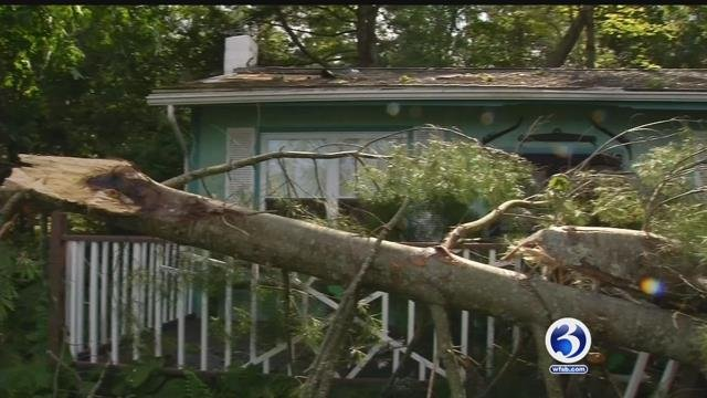 VIDEO: NWS confirms EF0 tornado touched down in Ashford