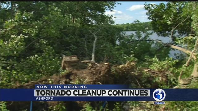 VIDEO: Small but powerful tornado confirmed in Ashford
