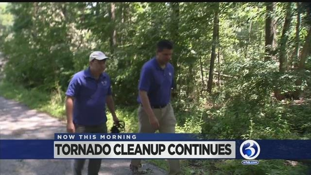 VIDEO: Cleanup continues in Ashford