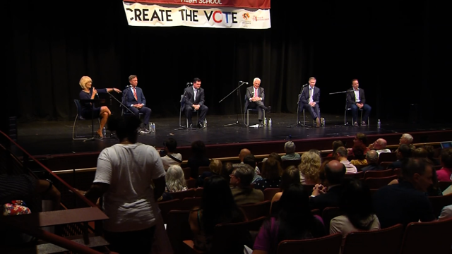 Candidates for governor took part in a forum in New Haven (WFSB)