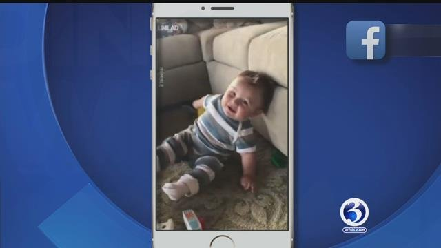 Baby's laugh, duck excited to see owner, dog wants to be left alone