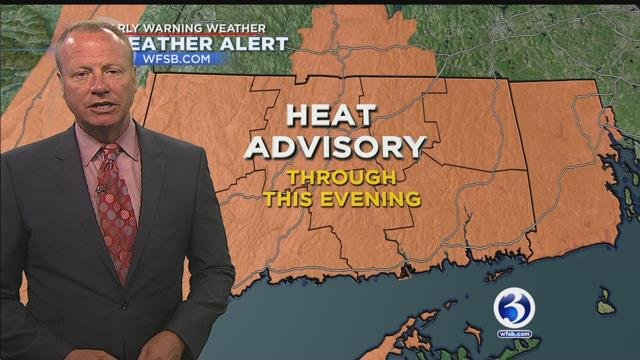 FORECAST: Heat advisory continues today | Weather | wfsb.com