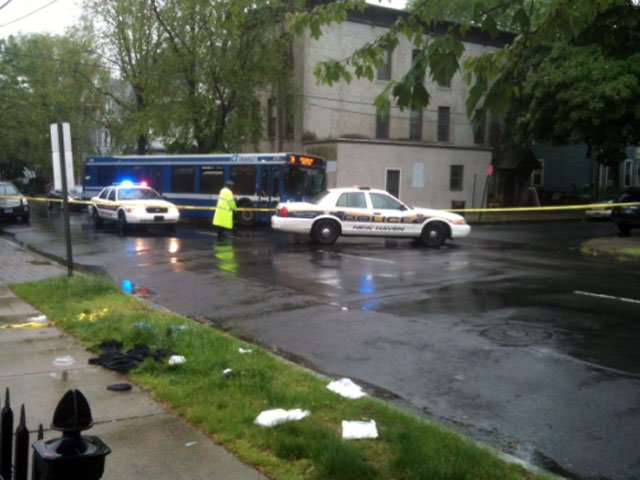 Police in New Haven are investigating a shooting