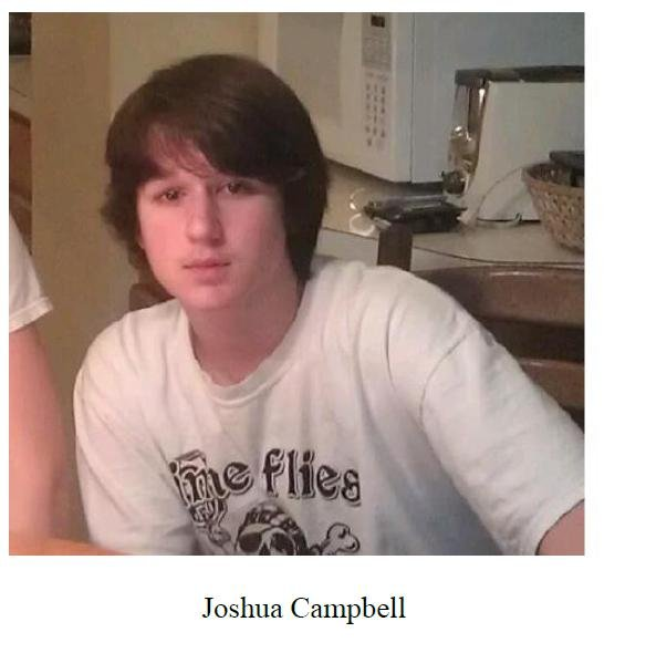 Joshua Campbell - courtesy of the Milford Police Dept.