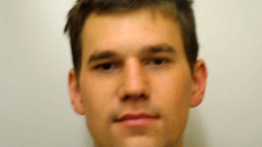 © Dylan Gray, 22, of Wilbraham was charged with committing a home burglary in Stafford.