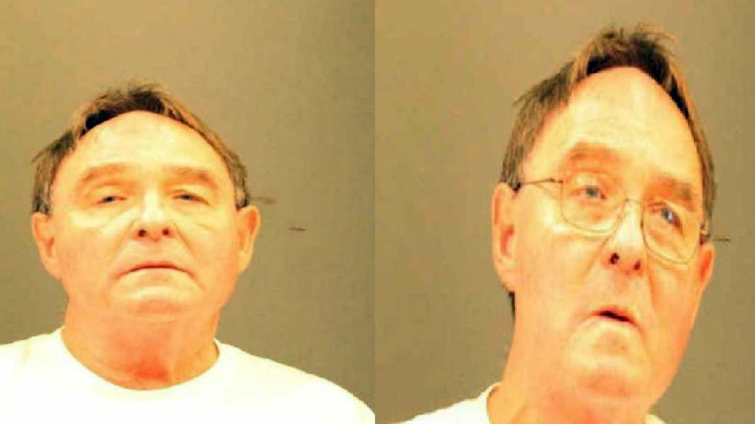 Michael Germain, 68, was arrested after he threatened to punch a Muslim woman in West Hartford