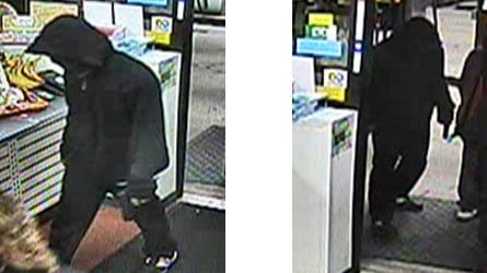 This man robbed a 7-Eleven in Andover on Wednesday morning.