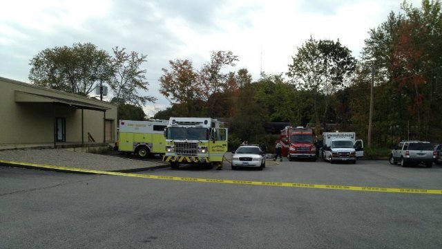 Hazmat situation at Plainfield Post Office