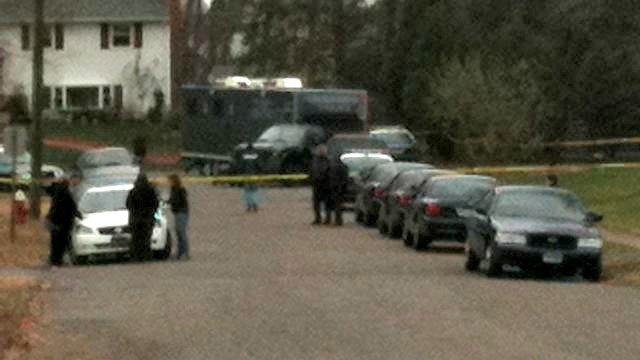 © File photo from November 2010 when the bodies of Beverly Therrien, Michael Ramsey and Pamela Johns were found in a home on Naomi Drive.