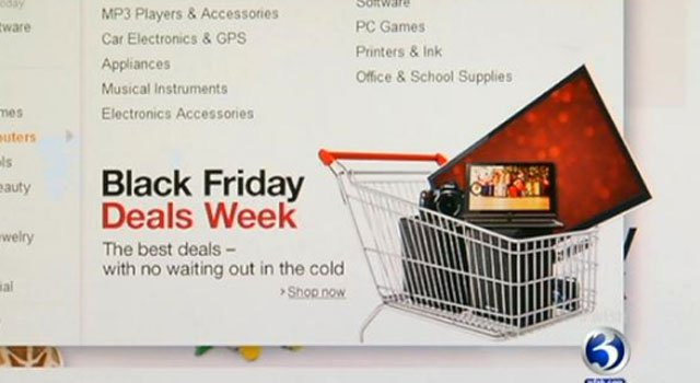  Many stores are offering Black Friday deals.