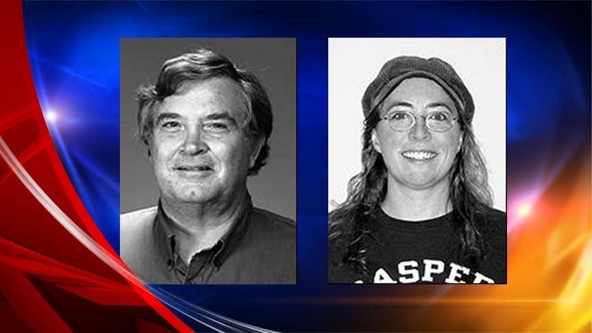 Victims: James Krumm and Heidi Arnold (Courtesy: Casper College)