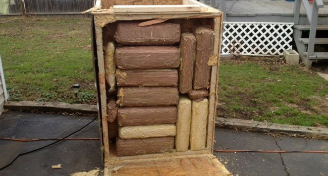© 170 pounds of marijuana were delivered to a home in West Hartford. (Photo provided by West Hartford Police Department)