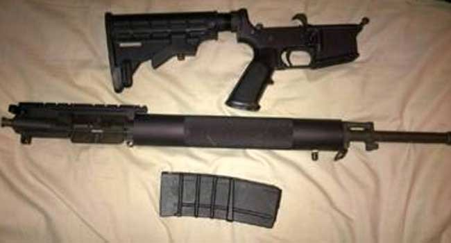 © The following photo of the weapons seized was provided by the Bridgeport Police Department.