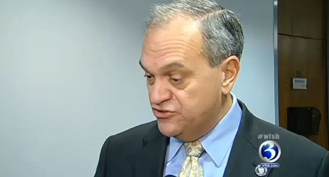 New Haven Mayor John DeStefano in a recent interview with WFSB.