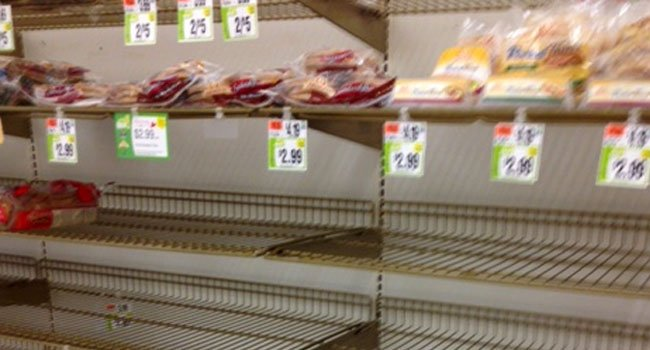 © The bread aisle at the Stop & Shop in Glastonbury.