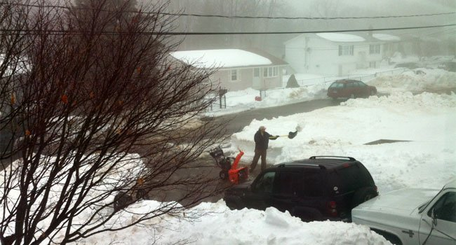 © Residents of Fieldwood Road helped each other in Waterbury.
