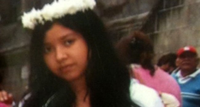 © The following photo of Erica Lucero was provided by the New Haven Police Department.
