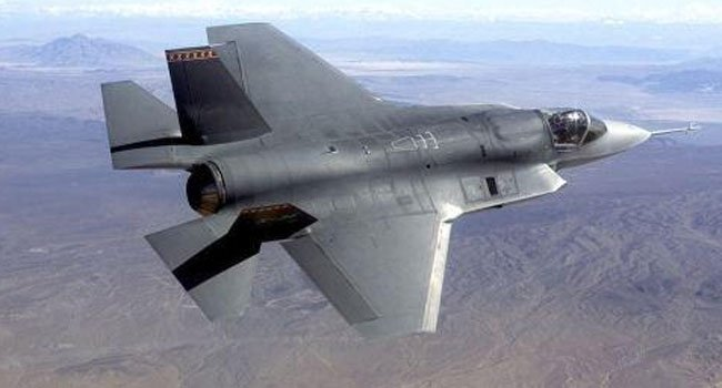 © The following photo of the F-35 was provided by the Associated Press.