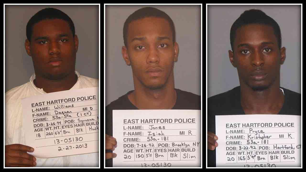 Daquan Williams, Isiah Jones & Kristopher Pryce