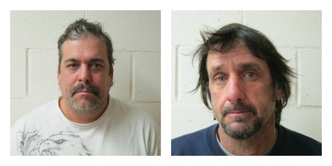 © This photo of Peter Denning and Randy Lachapelle  was provided by Connecticut State Police.