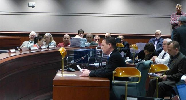 ?  Stag Arms Owner Mark Malkowski testifies in front of lawmakers.