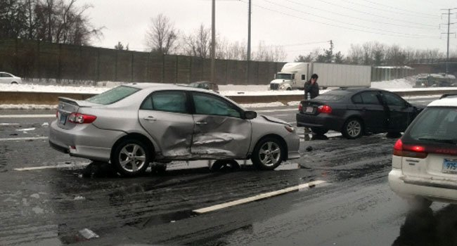 ? Another crash happened on Interstate 84 9n Manchester.
