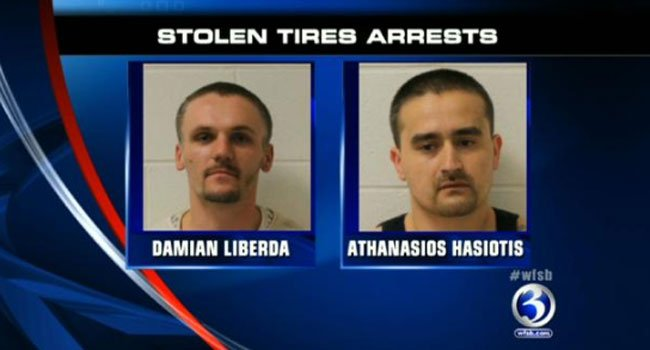 ? The following photos of Damian Liberda and Athanasios Hasiotis were provided by the Branford Police Department.