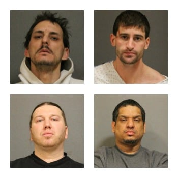 West Hartford police arrest 4 men for jewelry store robbery