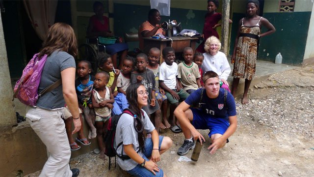 ? The following photos from Haiti were provided by Lauren Finger.