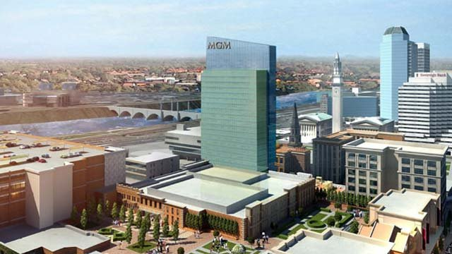 What a possible MGM Springfield would look like - courtesy MGM Springfield