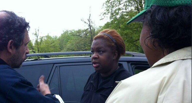 Volunteers come out to Hubbard Park to search for clues on missing ECSU student Alyssiah Wiley