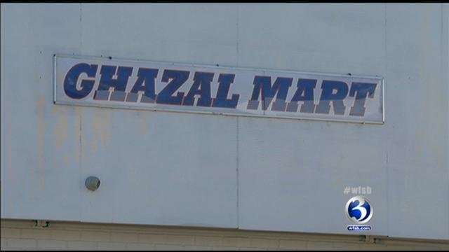 Ghazal Mart sign