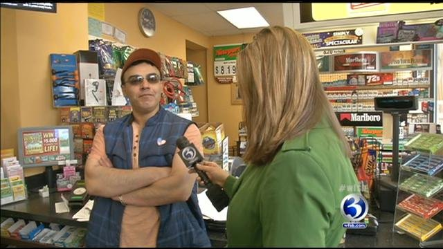 WFSB reporter Kim Lucey speaks with Fapyo Ghazal.